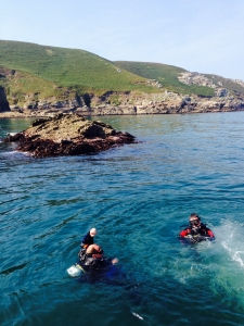 Another lovely day diving at Lundy - Ilfracombe Sea Safari, North Devon