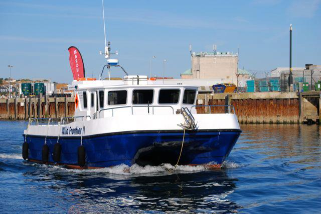 Now taking bookings for Diving and Fishing trips from Ilfracombe Harbour